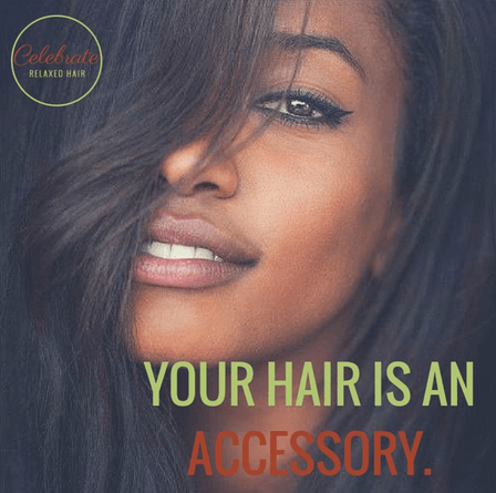 Celebrate Relaxed Hair